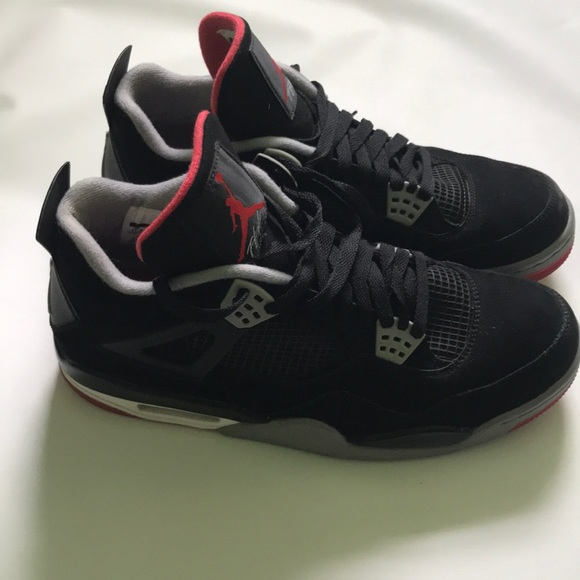 "online store c03e1 7c3a2 Jordan Other - Air Jordan 4 Retro ""Bred"" 308497-089"